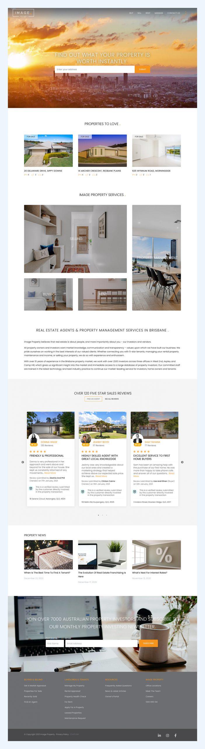 website design agent reviews