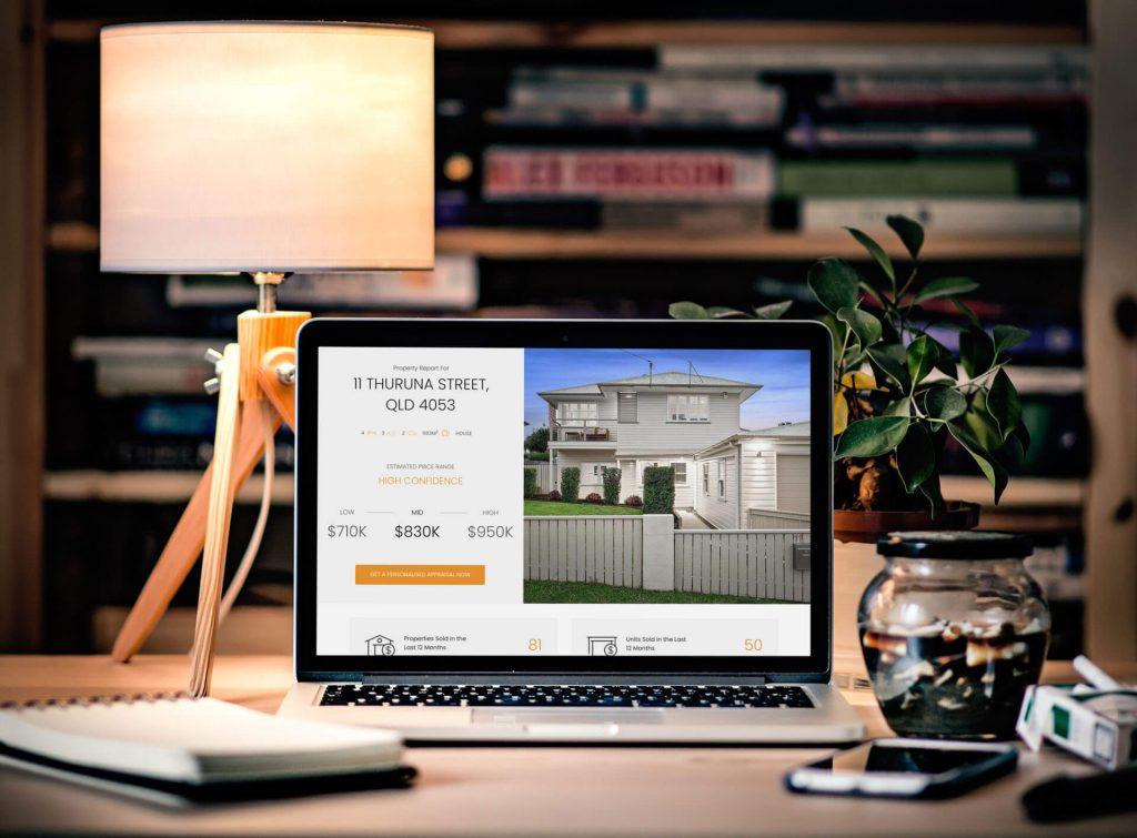 real estate website case study